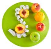 Konzept der gesunden Nahrung Lizenzfreies Stockfoto