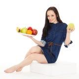 Konzept der gesunden Nahrung Stockbilder