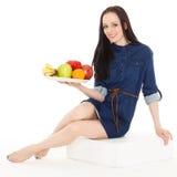 Konzept der gesunden Nahrung Stockfoto