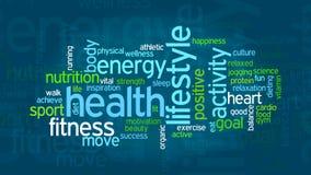 Konzept der Gesundheit und des Wellness lizenzfreie abbildung