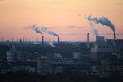Konzept der globalen Erwärmung Stockfotos
