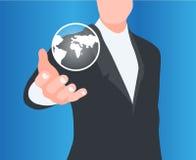 Konzept der Globalisierung Stockbilder