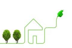 Konzept der grünen Energie Stockbild