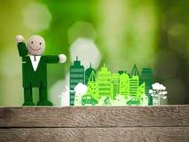 Konzept der grünen Erde Lizenzfreies Stockfoto