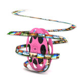 Konzept der Industrie Film Stockfotos