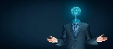 Konzept der künstlichen Intelligenz Lizenzfreies Stockfoto