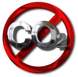 Konzept der Kohlenstoffneutralen person Stockfotografie
