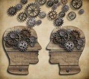 Konzept der Kommunikation, Dialog, Informationen Lizenzfreies Stockbild