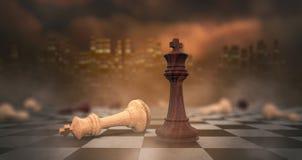 Konzept der Konkurrenz Lizenzfreies Stockfoto
