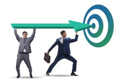 Konzept der korporativen strategischen Planung lizenzfreie stockfotos