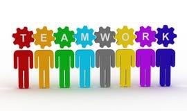 Konzept der Leute im Team Lizenzfreies Stockbild