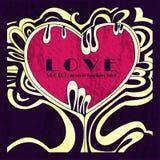 Konzept der Liebe, moderne Illustration eines Herzens vektor abbildung
