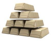 Konzept der Marmorstäbe 3d Stockbilder