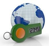 Konzept der Onlinebankdienstleistung Stockfoto