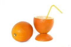 Konzept der Orangen Stockbild