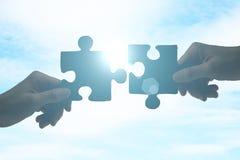 Konzept der Partnerschaft lizenzfreie stockfotos