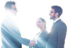 Konzept der Partnerschaft HändedruckTeilhaber lizenzfreie stockfotografie