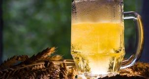 Konzept der Produktion des Bieres