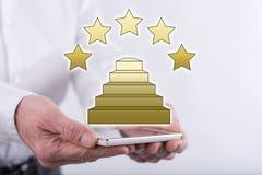 Konzept der Qualität Lizenzfreies Stockfoto
