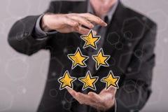 Konzept der Qualität Stockbild
