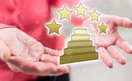 Konzept der Qualität Lizenzfreies Stockbild