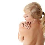 Konzept der rückseitigen Schmerz Stockfoto