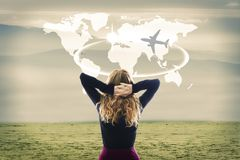 Konzept der Reise lizenzfreies stockbild