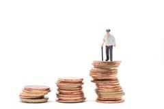 Konzept der Ruhestandsvorsorge lizenzfreie stockfotografie