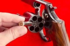 Konzept der russischen Roulette Stockbild