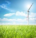 Konzept der sauberen Energie Lizenzfreie Stockbilder