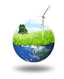 Konzept der sauberen Energie Stockfotografie