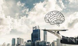 Konzept der Sinnesfähigkeitsentwicklung Lizenzfreie Stockfotos