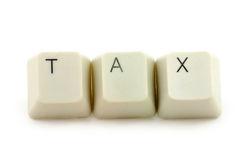 Konzept der Steuer Lizenzfreies Stockbild