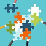 Konzept der Teamwork Lizenzfreie Abbildung