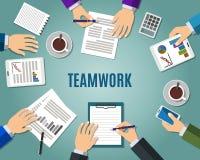 Konzept der Teamwork Stockbild
