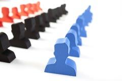 Konzept der Teamwork, der Leute und der Ikonen Lizenzfreie Stockfotografie