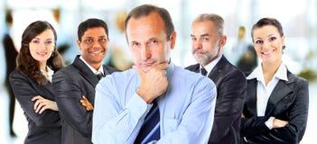 Konzept der Teamwork und der Partnerschaft Lizenzfreie Stockfotografie