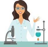 Konzept der wissenschaftlichen Forschung Lizenzfreies Stockbild