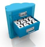 Konzept der Wolkendatenverarbeitung Lizenzfreie Stockfotos