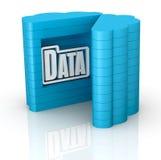 Konzept der Wolkendatenverarbeitung Lizenzfreie Stockbilder