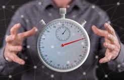 Konzept der Zeit Lizenzfreies Stockfoto