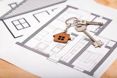 Konzept des Eigenheimbesitzes Real Estate und Eigentum Lizenzfreie Stockfotografie