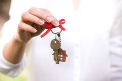 Konzept des Eigenheimbesitzes Real Estate und Eigentum Lizenzfreies Stockbild