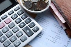 Konzept des Einsparunggeldes Lizenzfreie Stockfotos