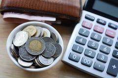 Konzept des Einsparunggeldes Lizenzfreies Stockbild