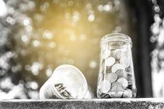 Konzept des Einsparunggeldes Lizenzfreies Stockfoto