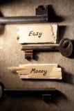 Konzept des flüssigen Geldes Lizenzfreie Stockfotos