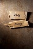 Konzept des flüssigen Geldes Lizenzfreies Stockfoto