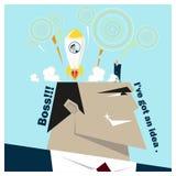 Konzept des Geschäfts-Ideen-Reihe Geschäfts-Teams 5 Stockfotos