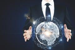 Konzept des globalen Geschäfts Lizenzfreie Stockfotografie